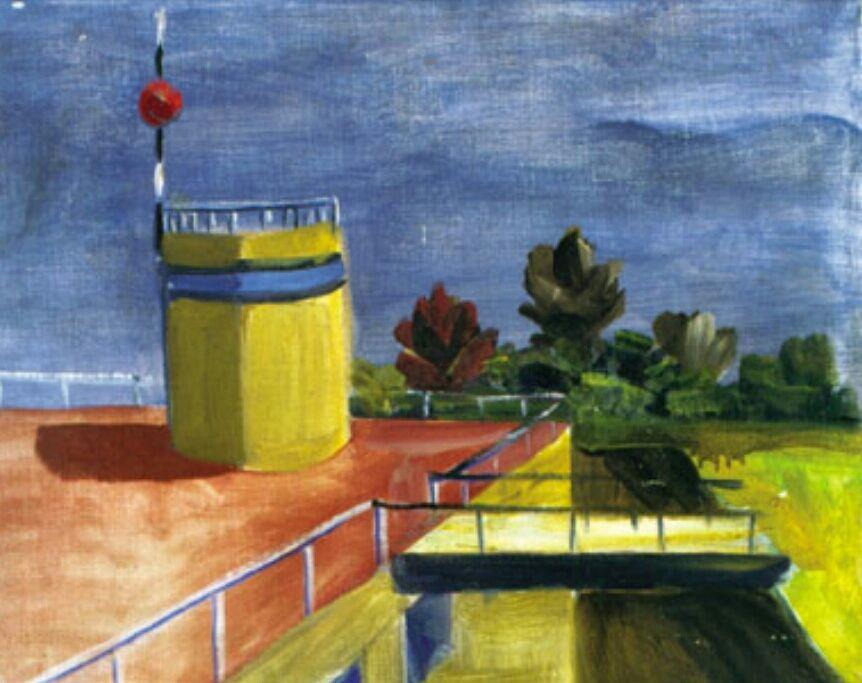 Ernesto de Fiori -  o terraço