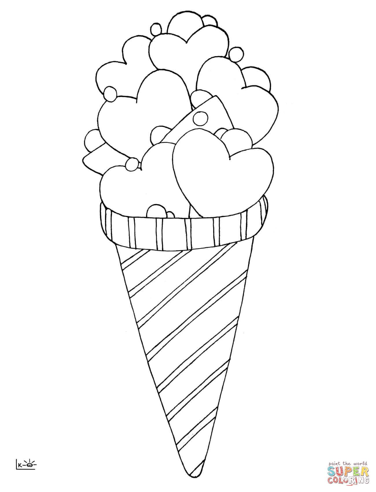 Love Ice Cream Coloring Page Free Printable Coloring Pages Ice Cream Coloring Pages Coloring Pages Free Printable Coloring Pages