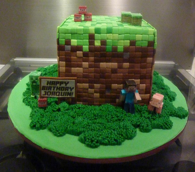 Minecraft Kitchen Ideas: Little Miss Oc's Kitchen Cakes