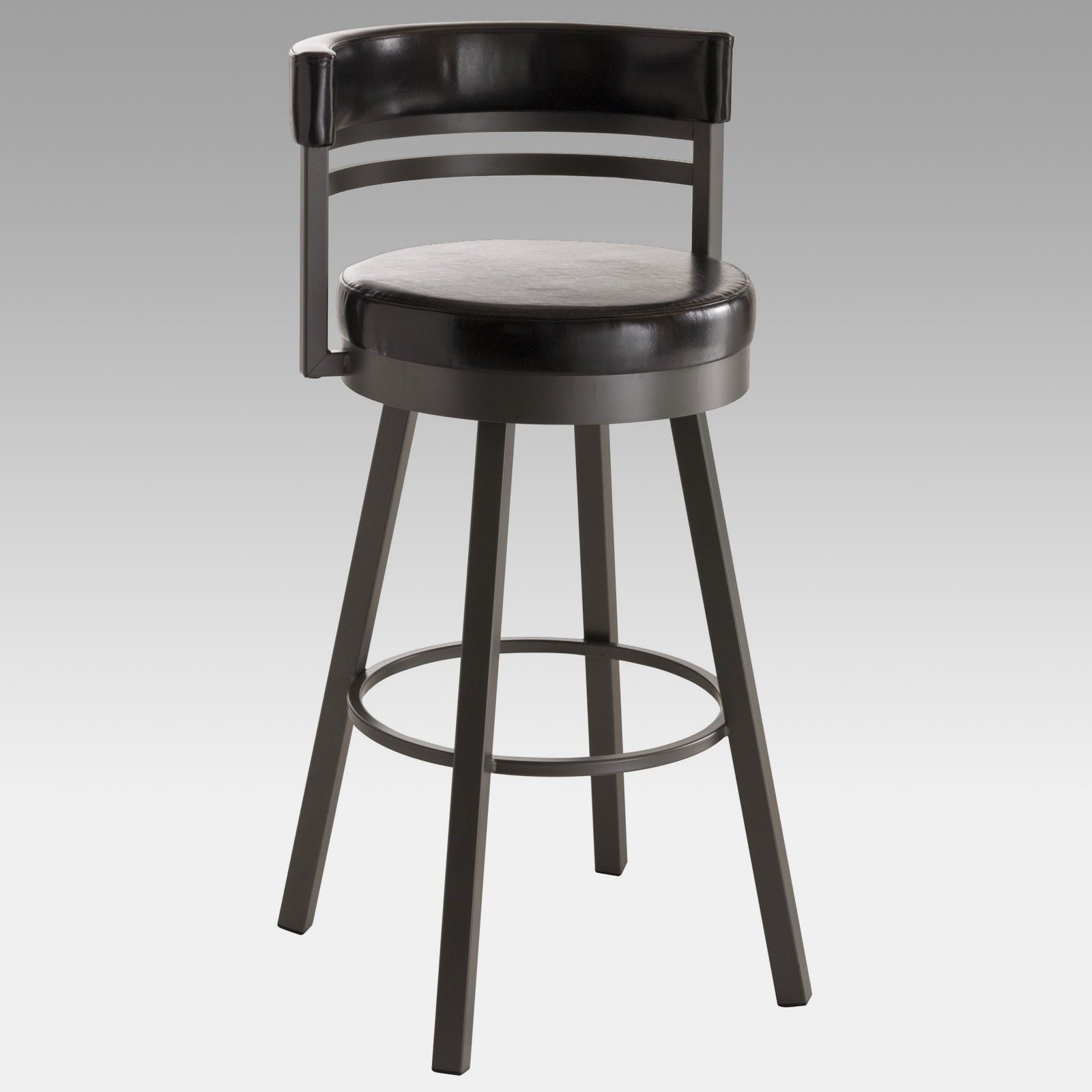 Amisco ronny swivel stool modern bar stools and counter stools - Amisco Ronny Swivel Counter Stool Rugged Industrial Style Can Also Be Clean And Modern The Amisco Ronny Swivel Counter Stool Proves The Point