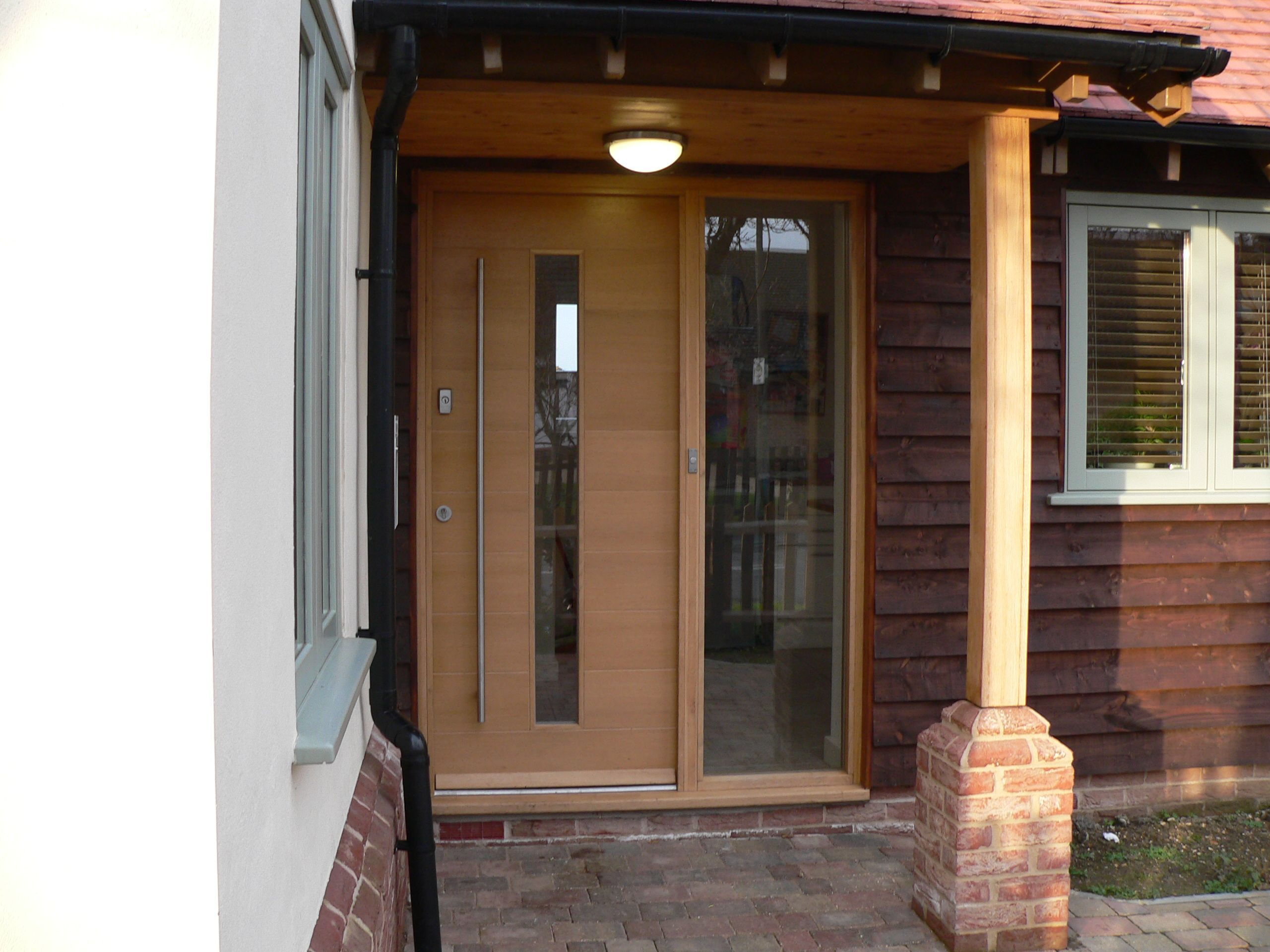 contempory front doors