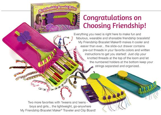 My Friendship Bracelet Maker Products For Home For Kids