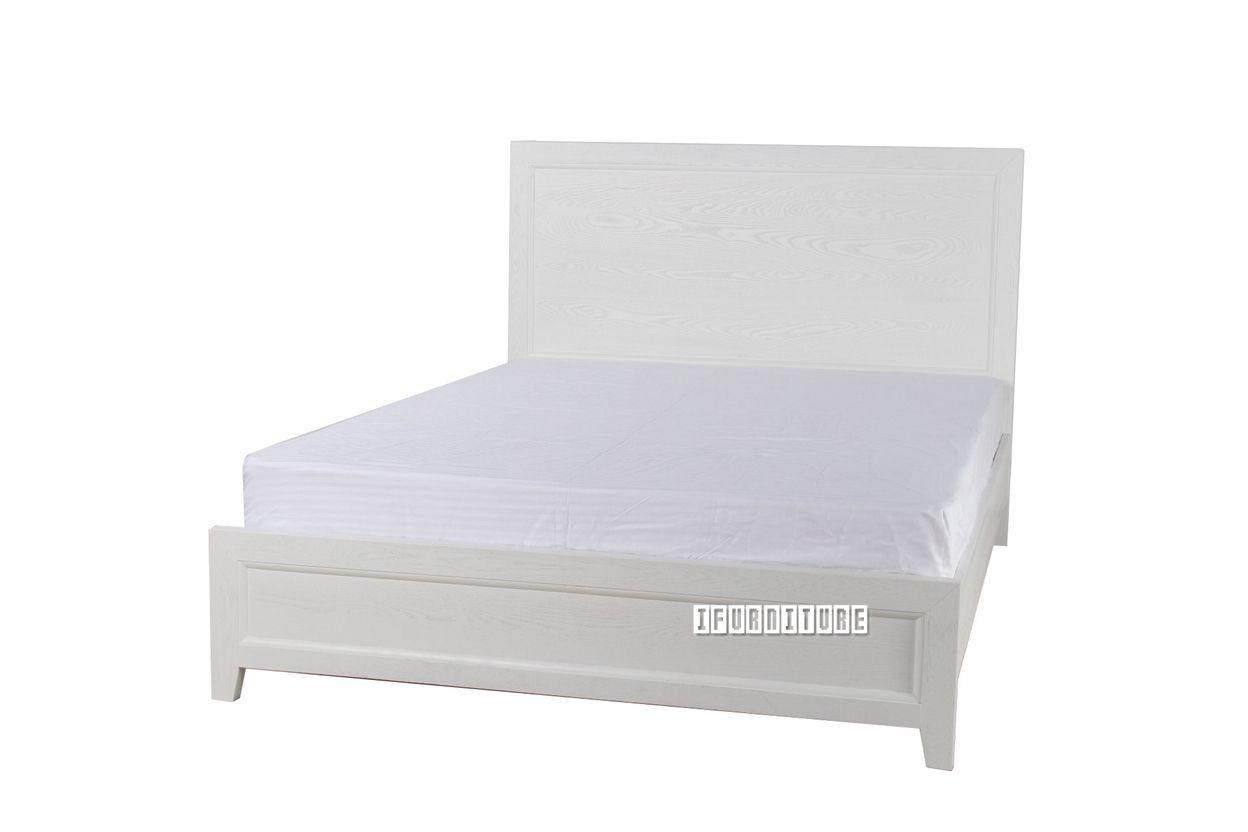 Megan queen size bed white magen bedroom nzus largest