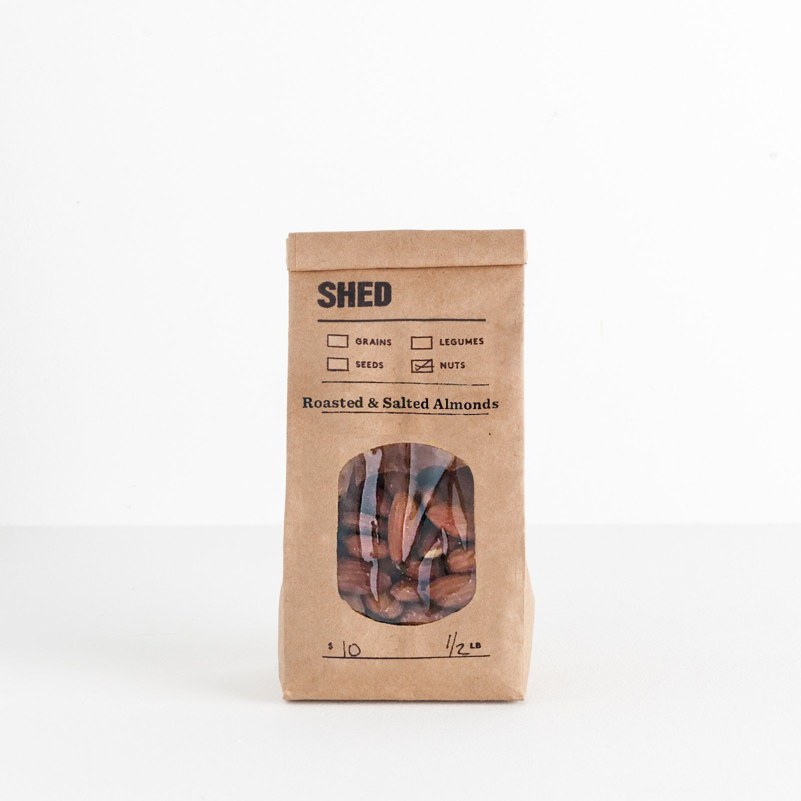 SHED Roasted and Salted Almonds