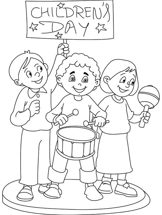 Top 10 Children's Day Coloring Pages Your Toddler Will ...