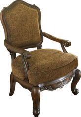 Ashley North Shore Showood Accent Chair Featuring The Luxurious Look North Shore Accent Will Add Style And Comf Traditional Accent Chair Chair Accent Chairs