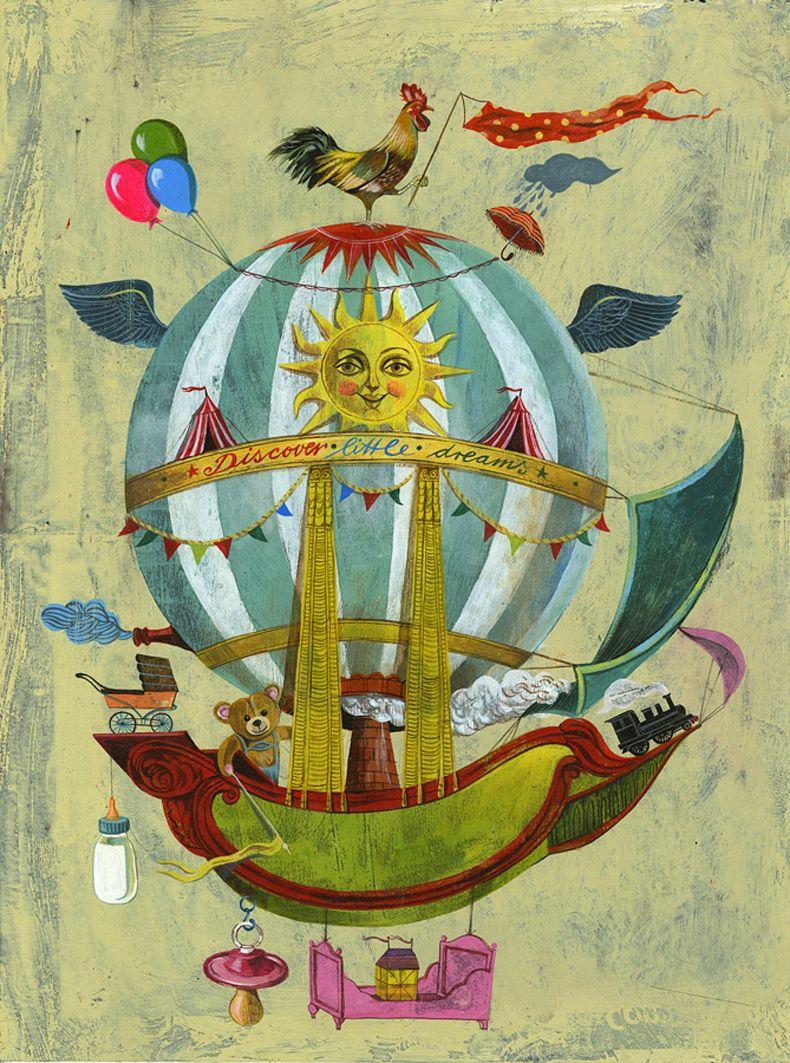 Olaf Hajek et Little Dreams. | Illustration | Pinterest | Olaf and ...