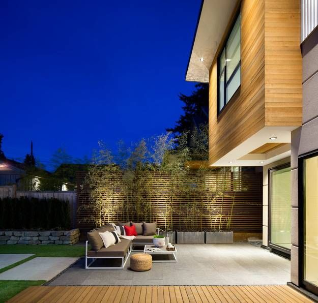 Ultra Modern Home Exteria: Ultra Green Modern House Design With Japanese Vibe In