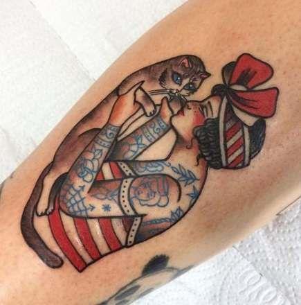 65 ideas tattoo traditional american flowers old school