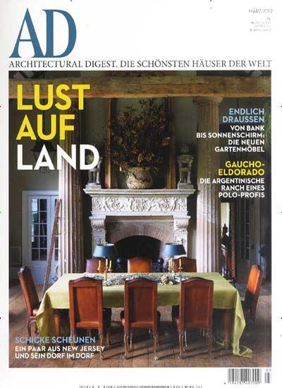 Stil  Und Meinungsbildender Titel Für Architektur, Wohnen Und Lebensart.