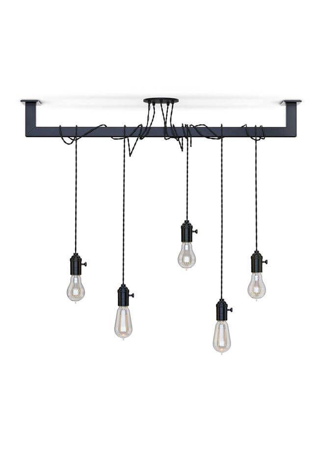 Industriële keuken of eettafel lamp kopen? Opvallend industrieel ...