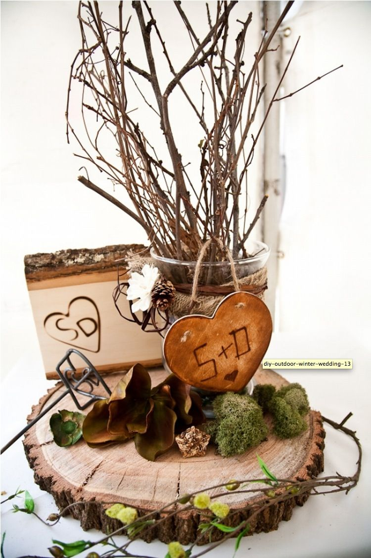 Winter wedding decorations from the forest pinterest decoration winter wedding decoration ideas junglespirit Choice Image