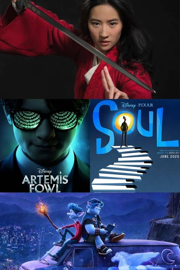 NEW Disney Movies Coming Out in 2020 Disney movies
