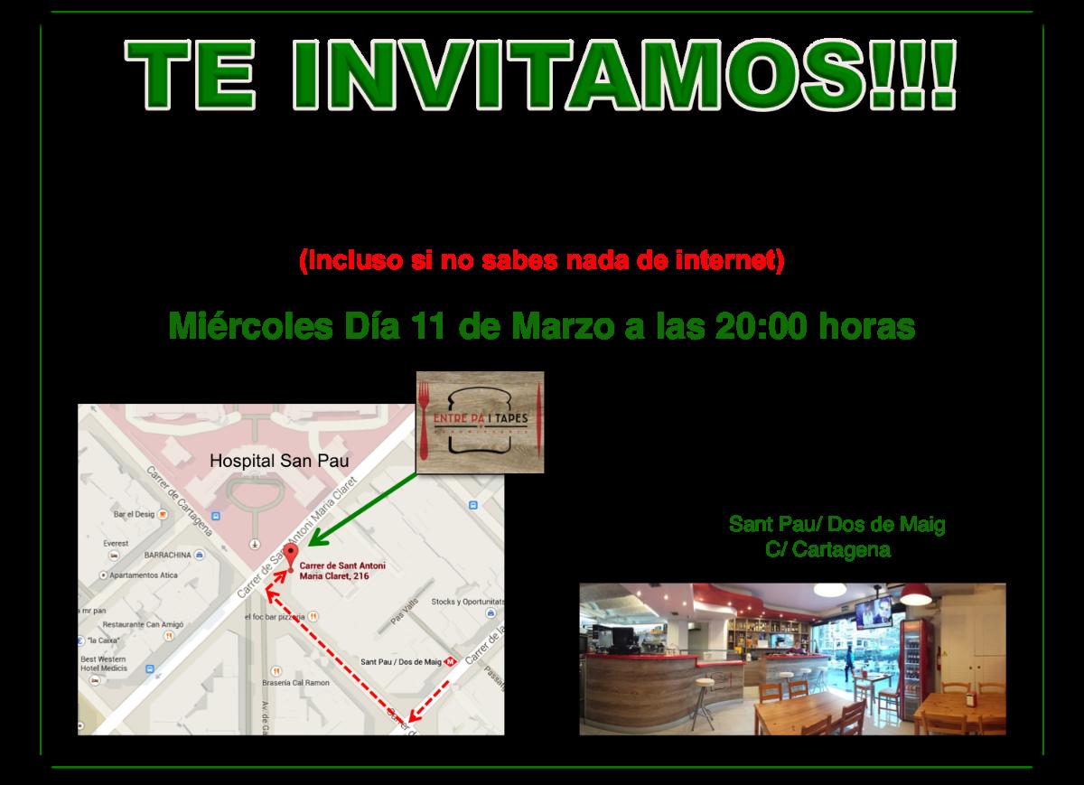 cada miercules a la 20,00 en Barcelona una invitacion a cafe y hablar de trabajo...contactame.....https://www.facebook.com/vasilica.bucur.39/about?section=work