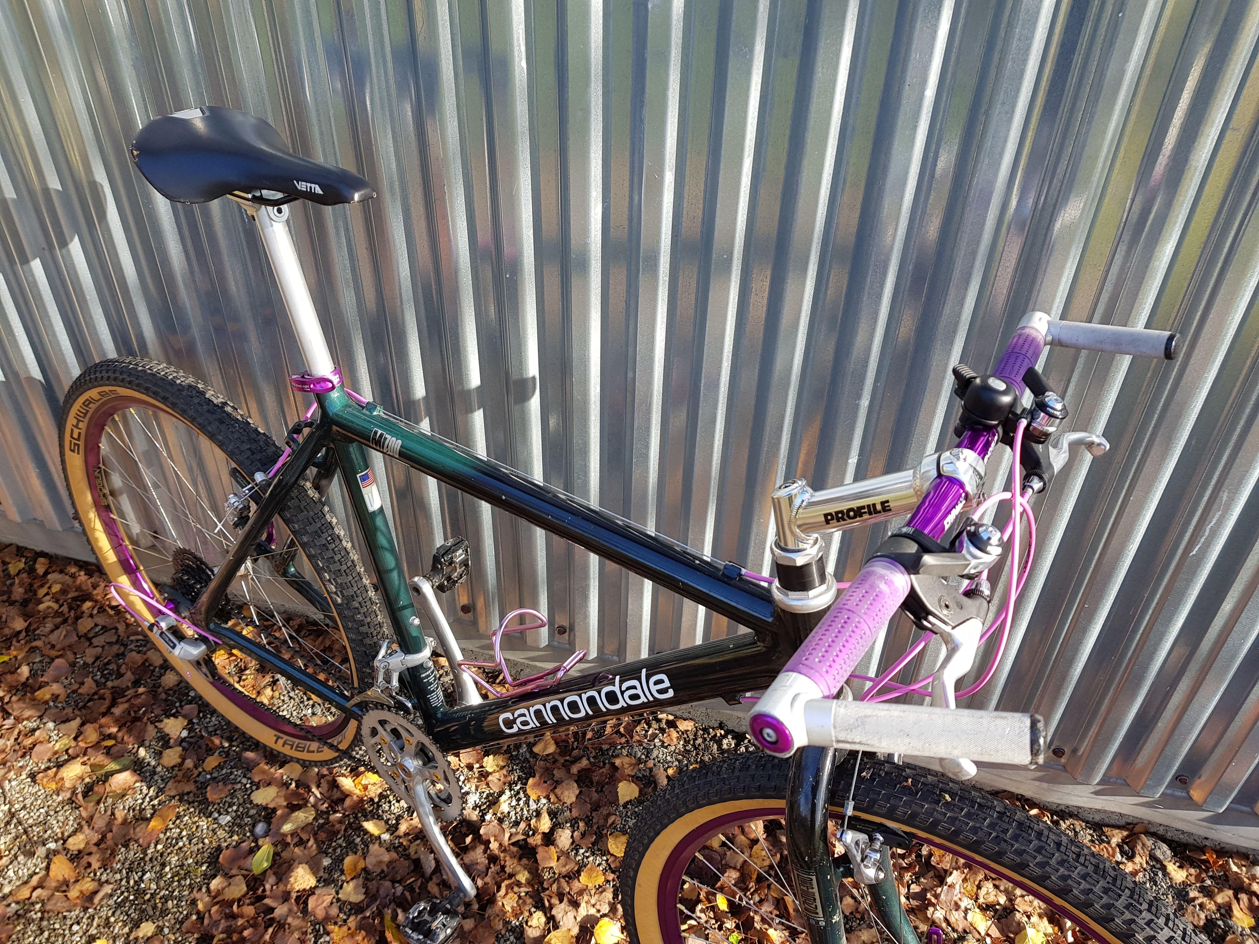 Cannondale M 700 Upgrade Vintage Mountain Bike Cannondale Bike Restoration