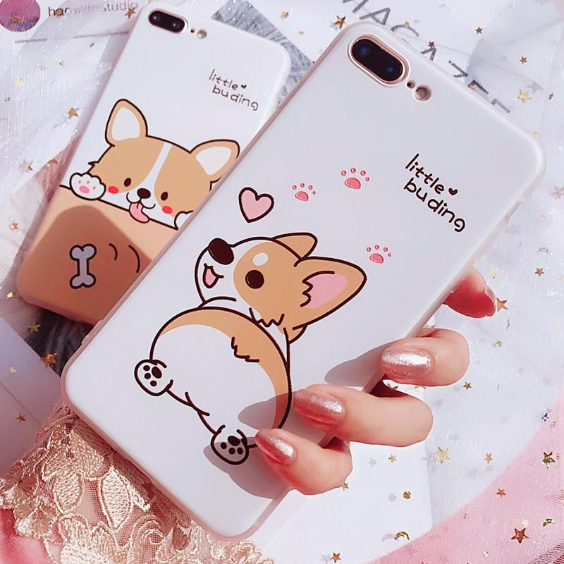Kawaii Pink kanahei Usagi iPhone Case Fundas para celular