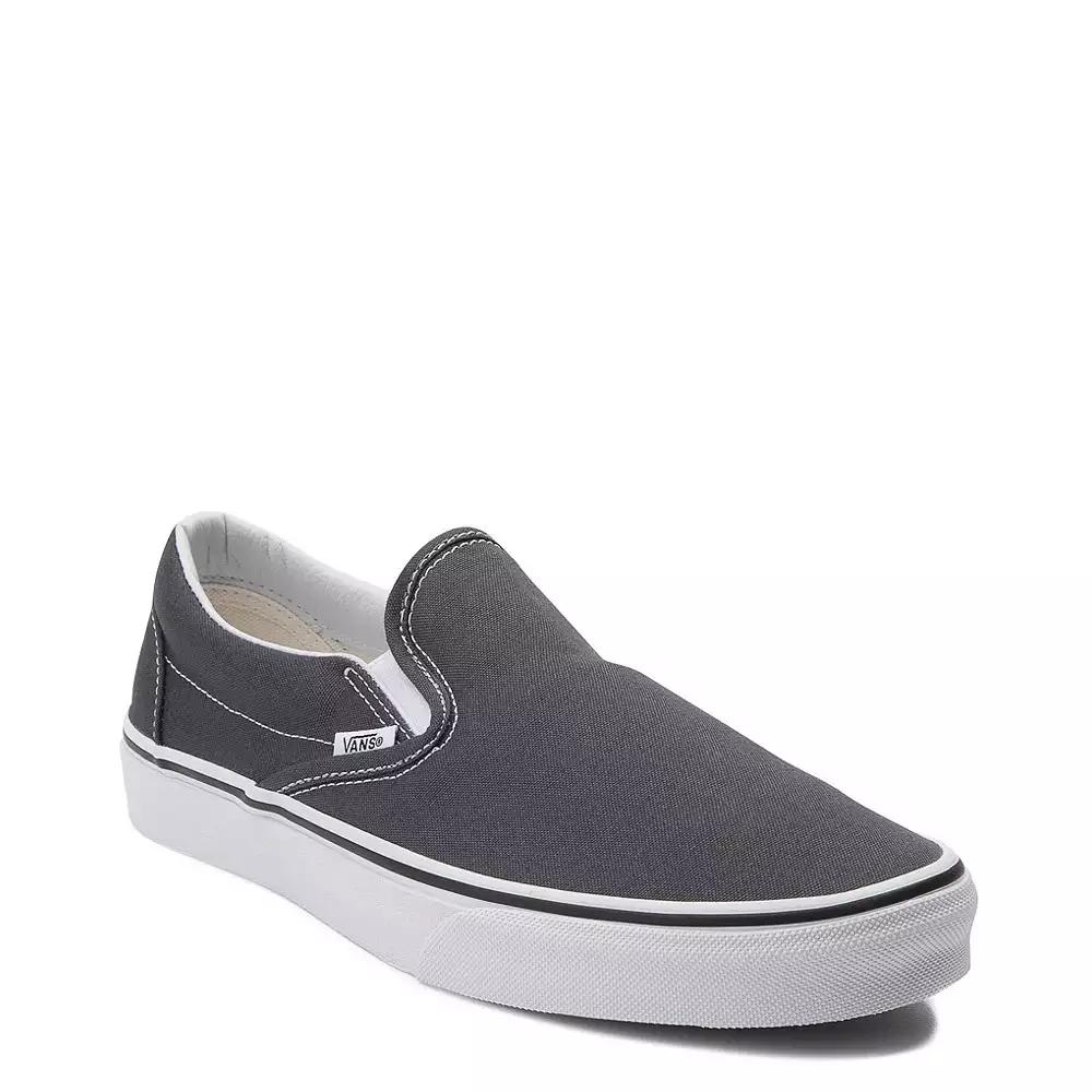 Vans Slip On Skate Shoe - Charcoal in