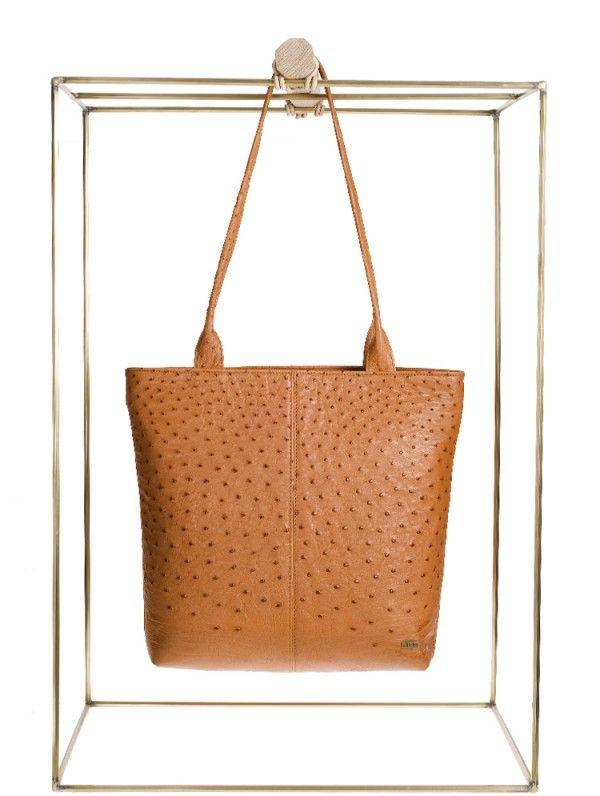 Ostrich Leather Bag | African Design Ideas | Pinterest | African ...