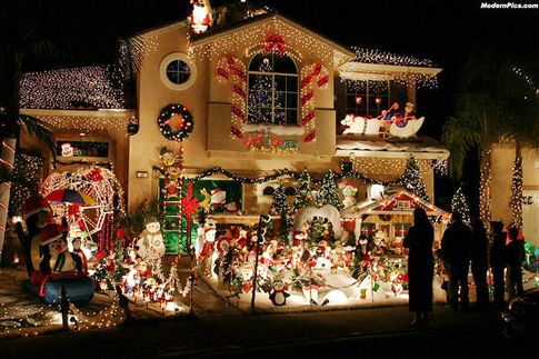 """Candy Cane Lane Christmas Decorations Sandy Toes And Popsicles Candy Cane Lane Holiday """"things To Do"""