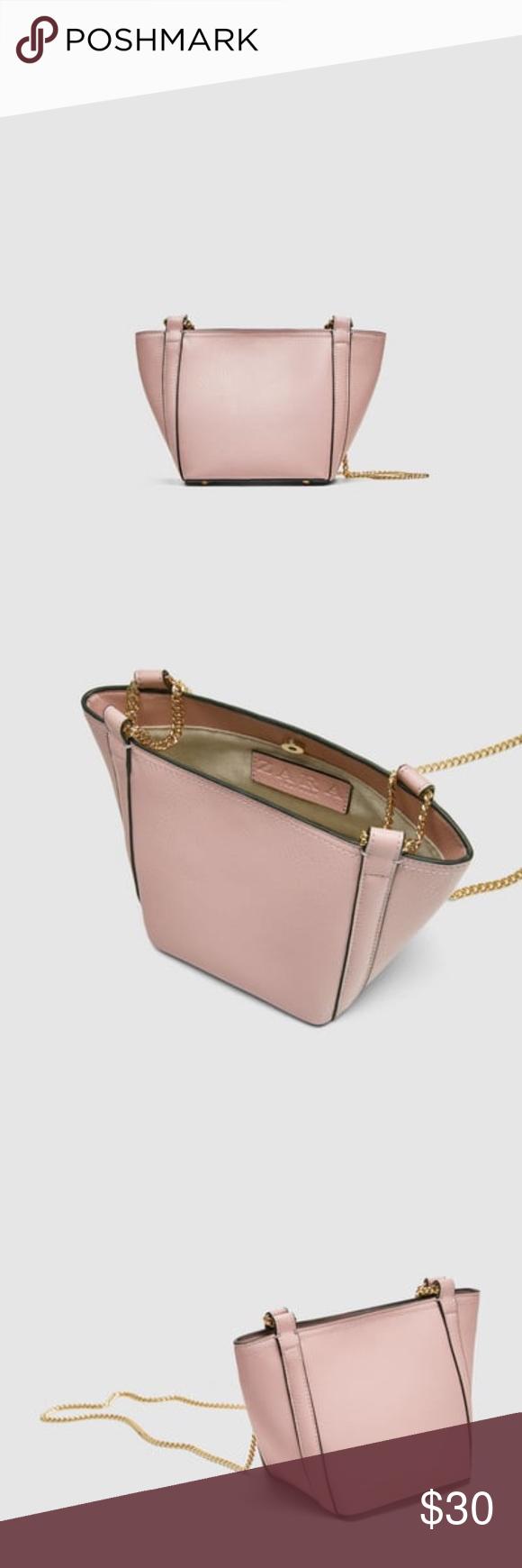 New With Tag Zara Mini Bucket Bag New With Tag Zara Mini