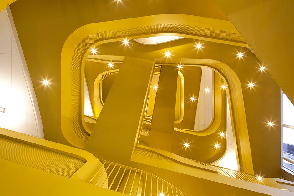Designline Büro - Projekte: Ein Herz aus Gelb   designlines.de
