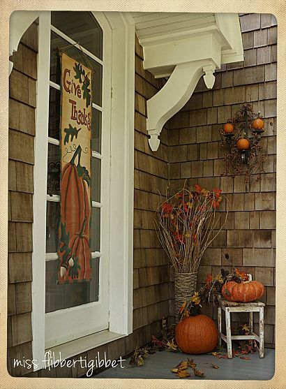 Fall outdoor decorating from Hometalk