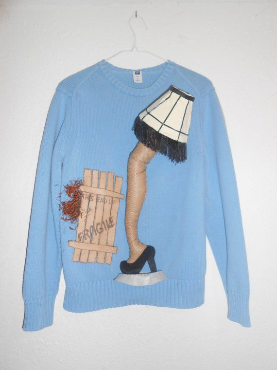 ugly a christmas story sweater