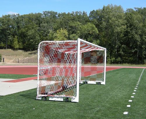 8 X24 3mm Hexagonal Box Soccer Nets Keeper Goals Your Athletic Facility Equipment Experts Soccer Goal Fashion Box Full Size Soccer Goal