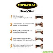 how to use the Futurola roller