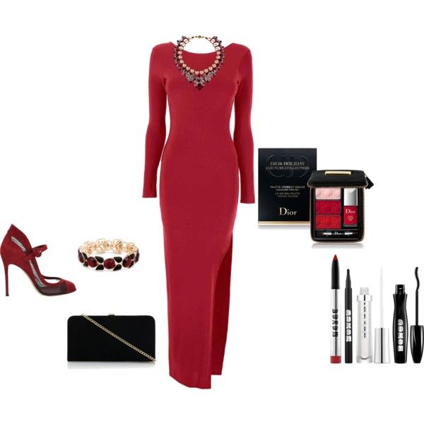 """""""red"""" by ria-kostopoulou on Polyvore"""