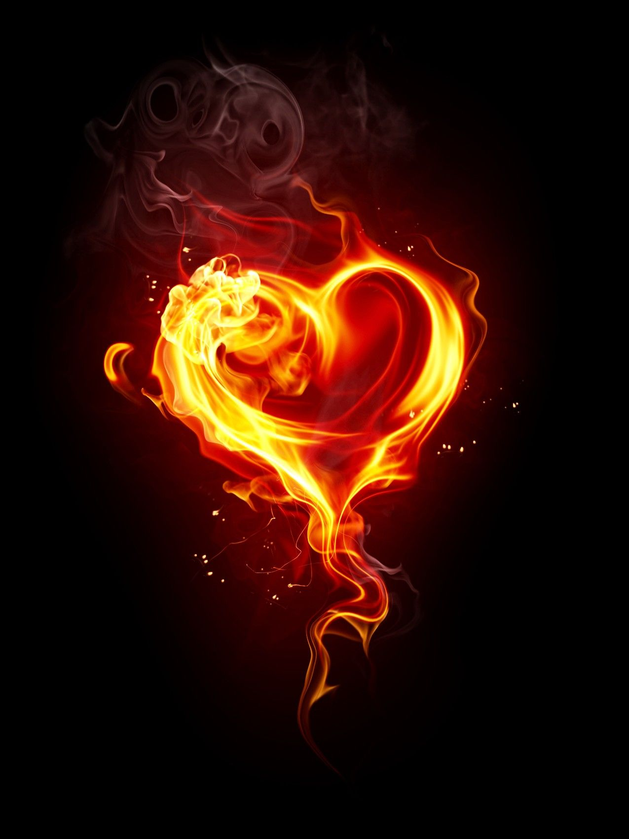 Pin By Binyamin On Png Fire Heart Heart Wallpaper Love Background Images