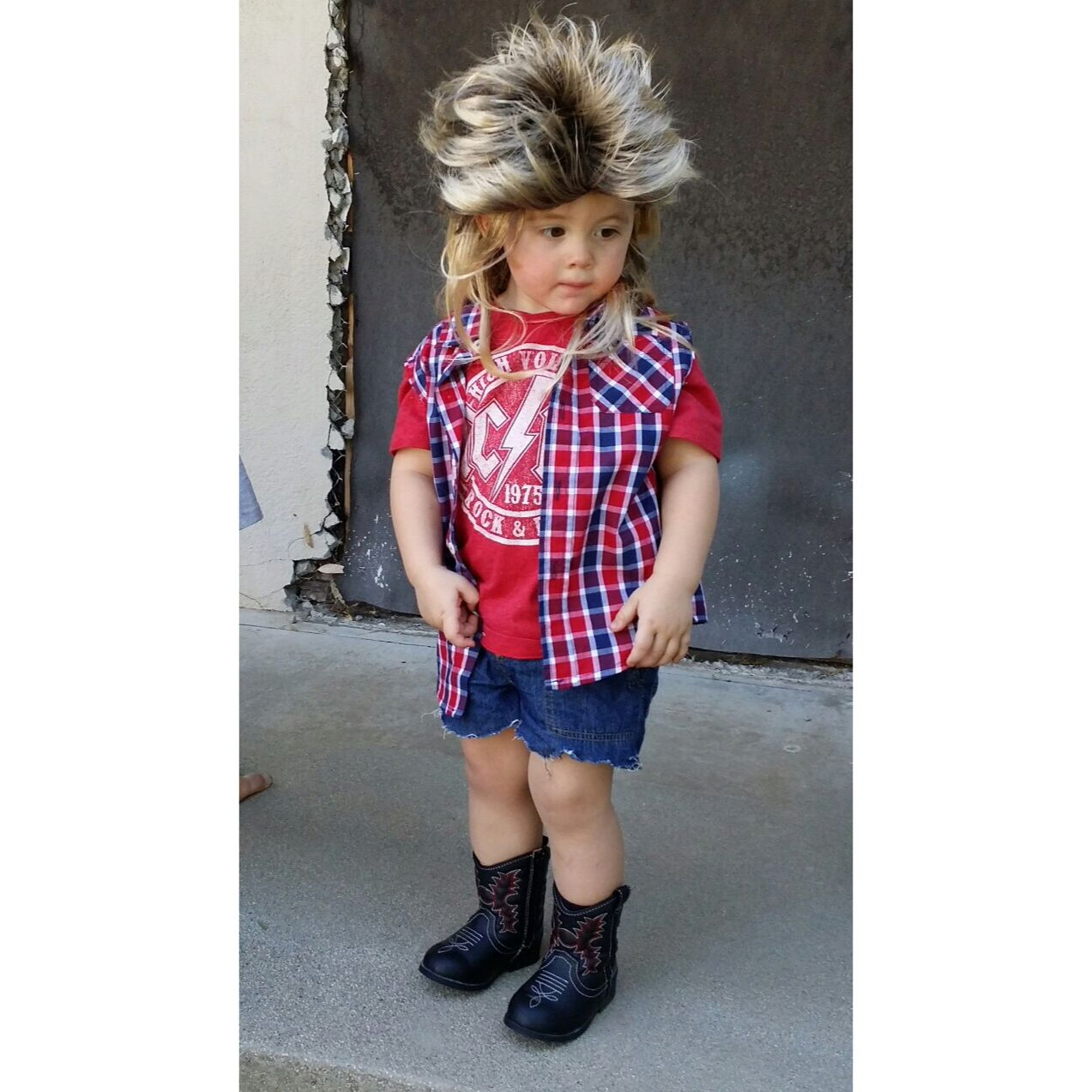 be2c848224d Joe Dirt Halloween Costume for toddlers | Carson in 2019 | Toddler ...