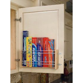 Rev A Shelf Foil Rack Door Mount 16 1 8in Wide Kitchen Storage Organizer Pantry Cabinet Organizers Over