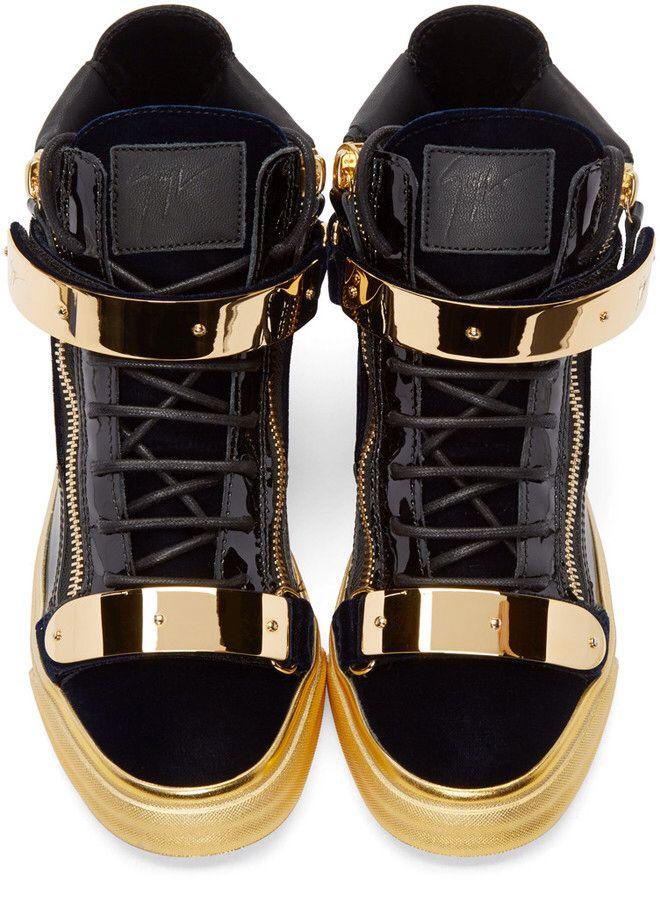 giuseppe zanotti black gold