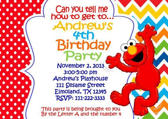 Download Now Elmo 1st Birthday Invitations This Invitation For FREE At