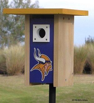 Minnesota Vikings NFL Bluebird/Songbird House