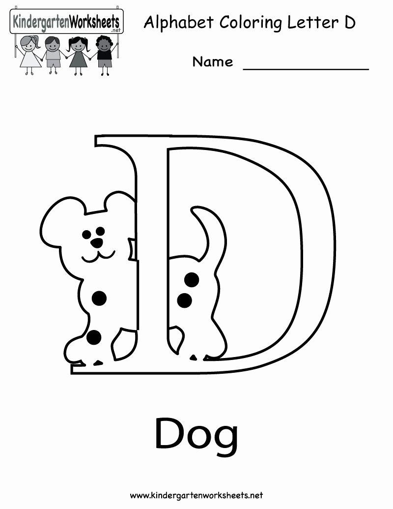 Letter D Worksheet For Preschool Awesome Letter Dot To Dot D Worksheet In 2020 Alphabet Worksheets Kindergarten Letter D Worksheet Coloring Worksheets For Kindergarten