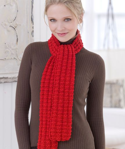 Easy Scarf Knitting Patterns Scarves Free Pattern And Yarns