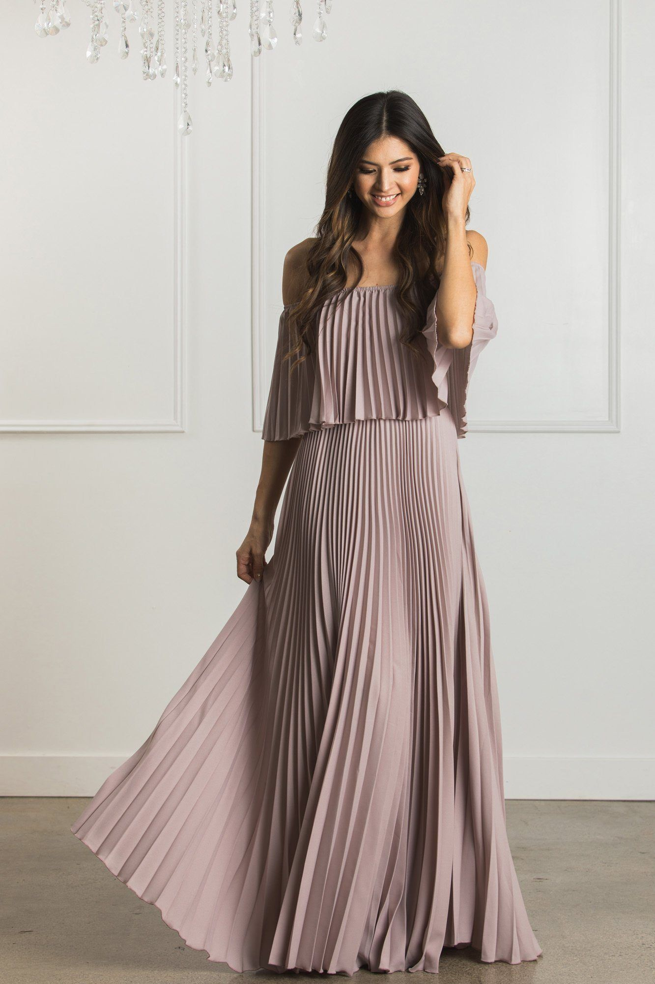 34231b6253a6 Candace Pleated Maxi Dress in 2019 | Photography | Boutique maxi ...