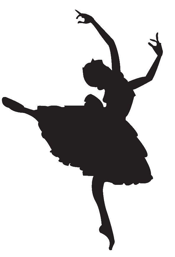 ballet dancer clipart silhouette panda free images fairies rh pinterest com ballot clip art free bullet clip art free