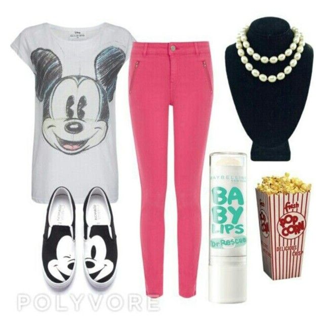 """""""Mickey mouse"""" by poly-love1213 ❤ liked on Polyvore"""