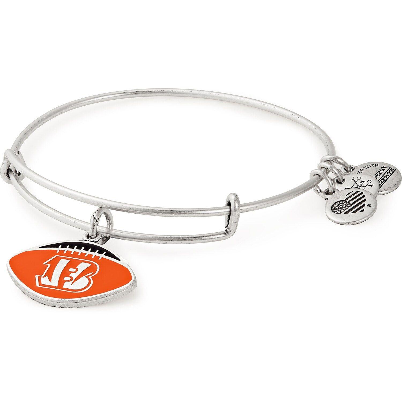 Women's Alex & Ani Cincinnati Bengals Stack Bracelet #Affiliate #Ani, #Alex, #Women, #Cincinnati
