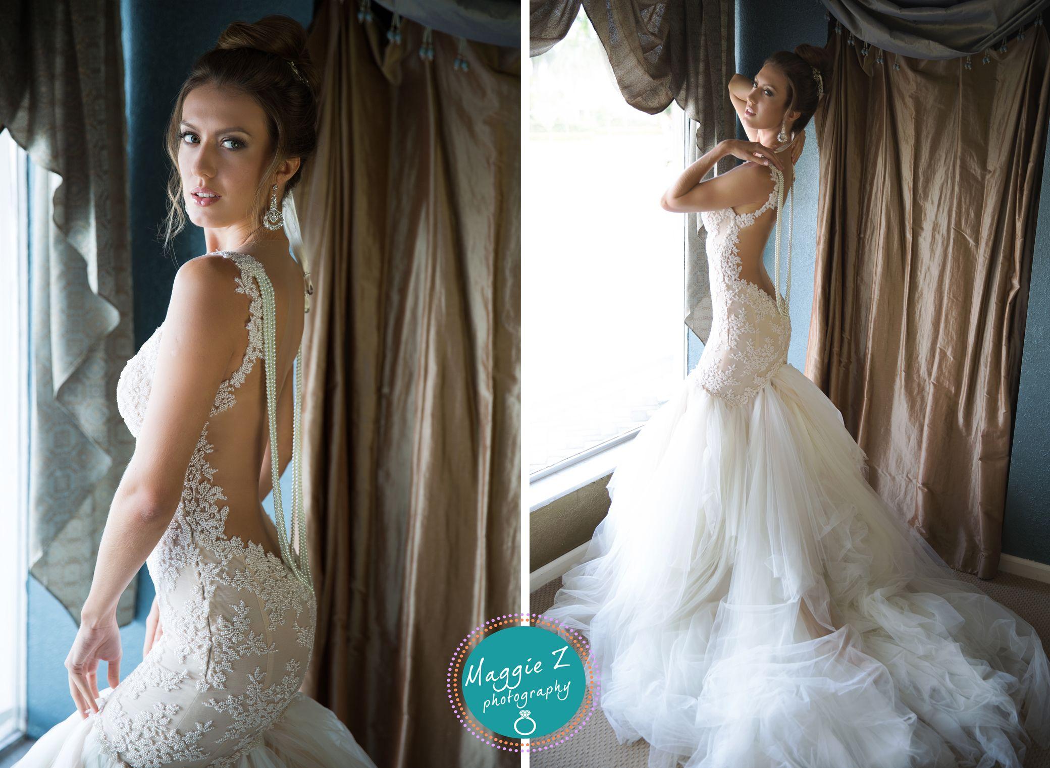 Galia Lahav bridal shoot at Boca Raton Bridal and Consultants