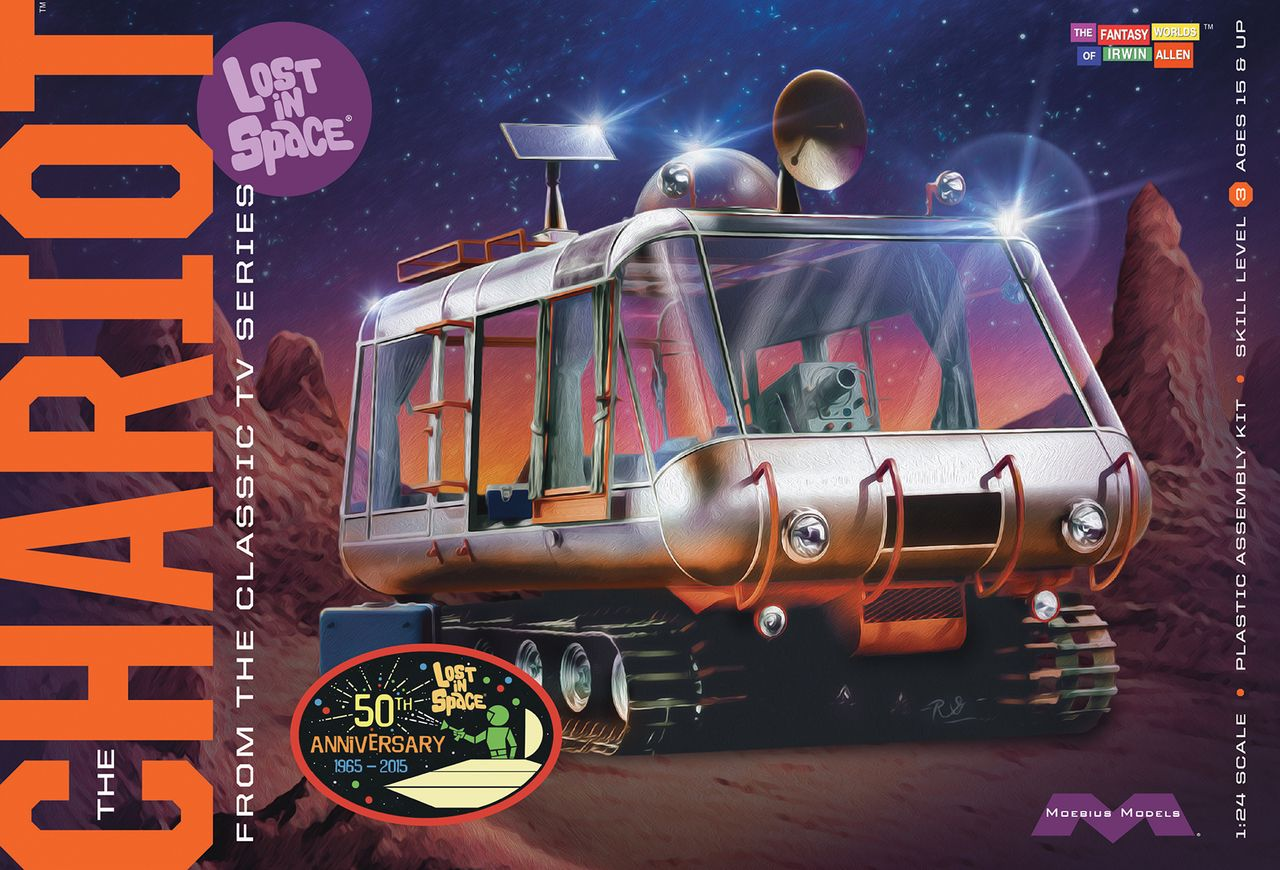 Lost in Space The Robot 1:24 Scale Moebius Model 1//24 Scale Sealed Minty Mini