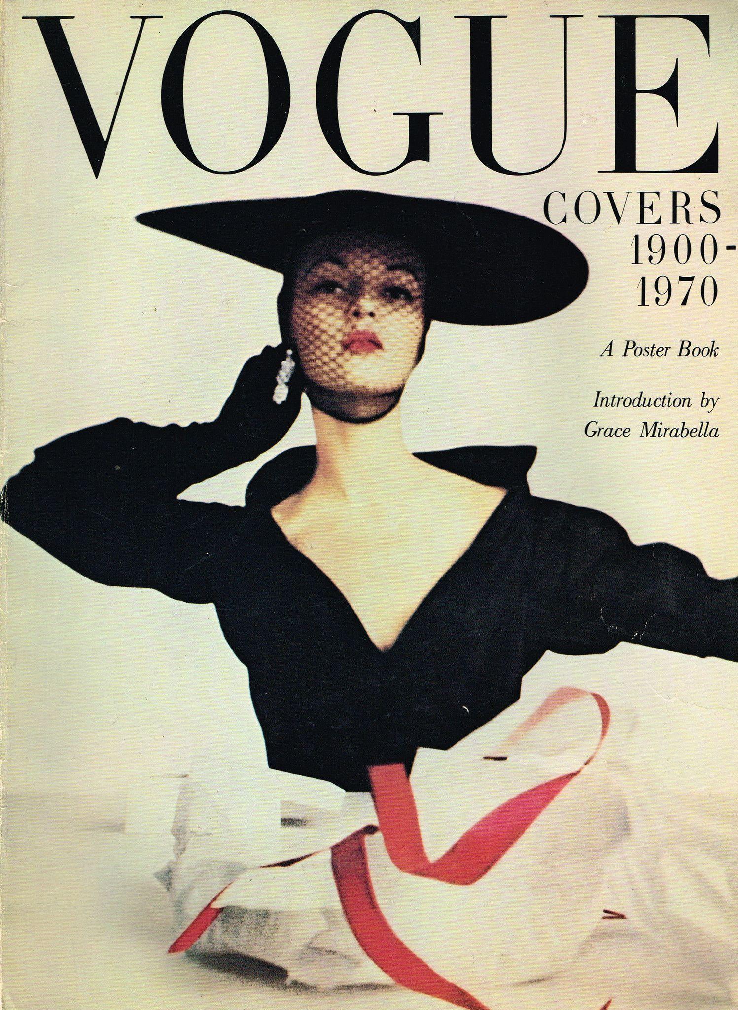 Vintage Vogue Fashion Magazine Cover