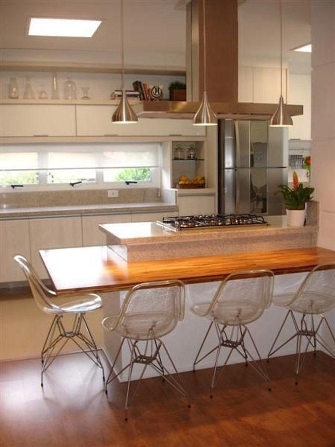 Cozinha Americana: Ideias e Modelos Incríveis! (57 Fotos ...
