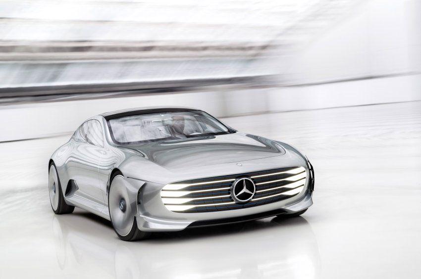 mercedes benz IAA 2015 - Skizze eines Autos: Das Designkonzept heißt ...