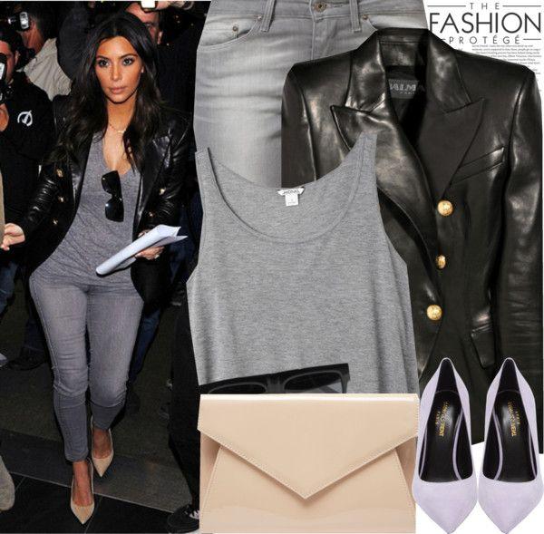Celebrity Style Kim Kardashian Celebrity Style