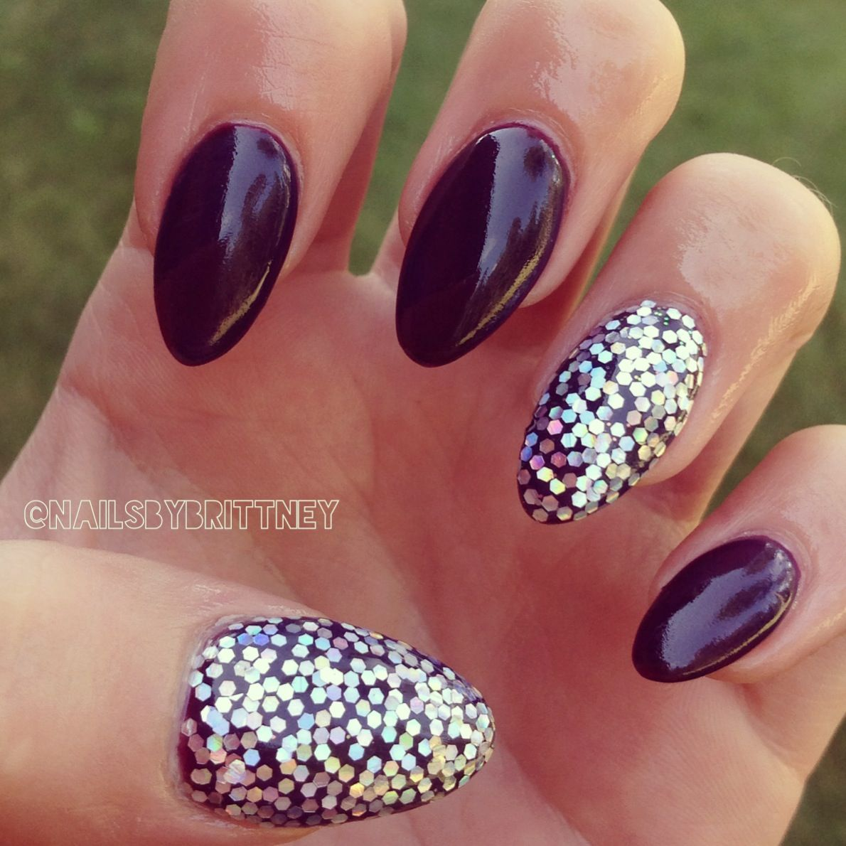 Fall almond nails ❤ | Nails | Pinterest | Fall almond nails, Almond ...