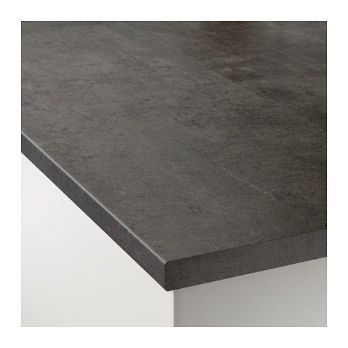 ekbacken countertop concrete and kitchens. Black Bedroom Furniture Sets. Home Design Ideas
